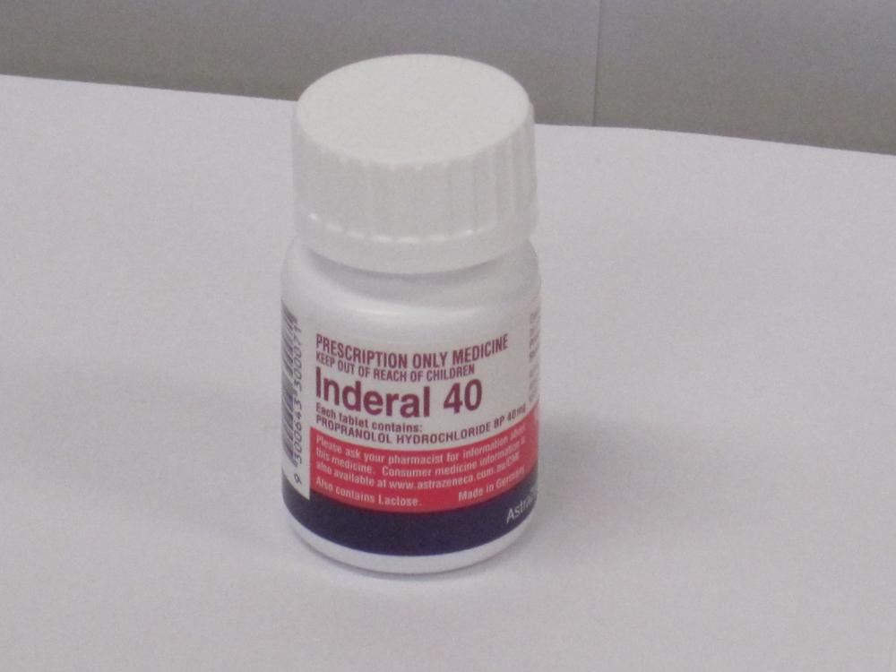 Inderal 40 For Anxiety
